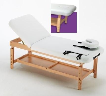 table de massage fixe bois hetre clair institut de beaute hotel spa soins esthetique massage. Black Bedroom Furniture Sets. Home Design Ideas