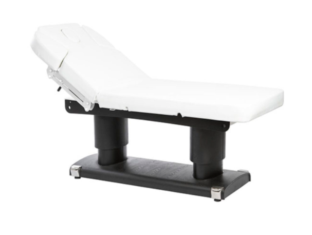 "TABLE DE MASSAGE ELECTRIQUE 4 MOTEURS  ""MEDIKALUXE"" BASE MARRON"