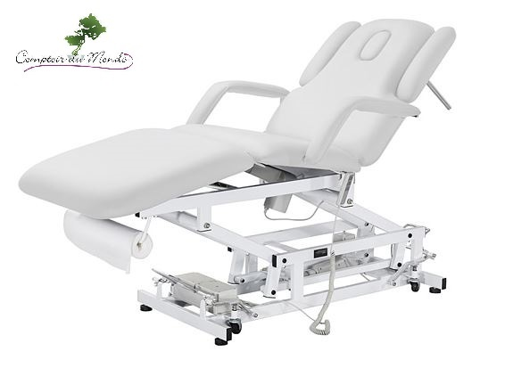 table de massage electrique 3 moteurs osteomedi institut spa pro soins corps esthetique. Black Bedroom Furniture Sets. Home Design Ideas