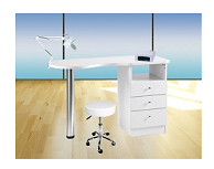 "CABINE TABLE SOINS MANUCURIE ""NEW PRONAIL"""