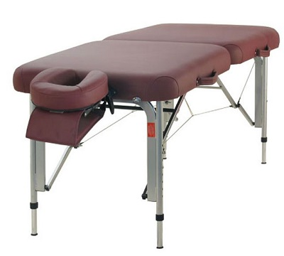 "TABLE DE MASSAGE PLIABLE ALU ""TAO"""