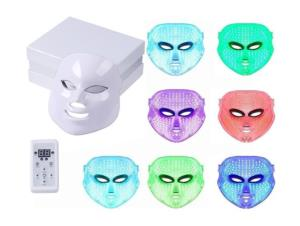MASQUE LED PHOTOTHERAPIE 7 COULEURS PRO
