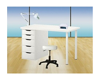 "CABINE TABLE SOINS MANUCURIE ""NEW TANIA"""