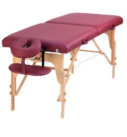 "TABLE DE MASSAGE PLIABLE BOIS ""NEW FITLIGHT"""
