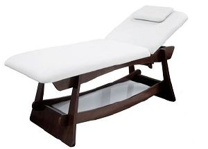 "TABLE DE MASSAGE FIXE BOIS WENGE ""FLORA"""