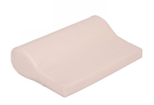 COUSSIN CONFORT BOLSTER SPECIAL CERVICALES PU CUIR CREME