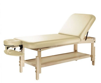 "TABLE DE MASSAGE FIXE BOIS HETRE ""BALI"""