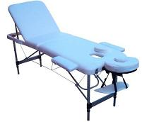 "TABLE DE MASSAGE PLIANTE EN ALU ""NEW SPEN 2012"""